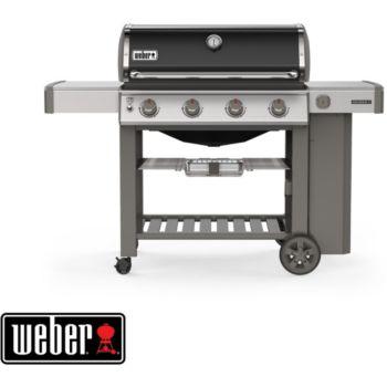 Weber Genesis II E-410 GBS plancha black