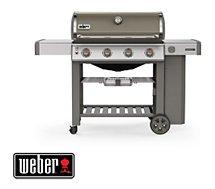 Barbecue gaz Weber  Genesis II E-410 GBS plancha smoke grey
