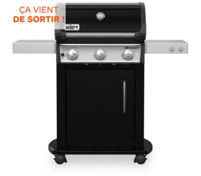 Barbecue gaz Weber SPIRIT E-315 MIX PLANCHA BLACK