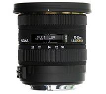 Objectif pour Reflex Sigma  10-20mm f/3.5 DC EX HSM Nikon