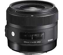 Objectif pour Reflex Sigma  30mm f/1.4 DC HSM Art Canon