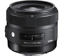 Objectif pour Reflex Sigma  30mm F1,4 DC HSM Art NIKON