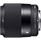 Objectif pour Hybride Sigma 30mm F1.4 DC Contemporary Canon EF-M