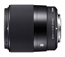 Objectif pour Hybride Sigma  30mm F1.4 DC Contemporary Canon EF-M