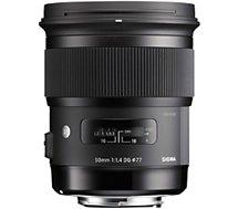 Objectif pour Reflex Sigma  50mm f/1.4 DG HSM Art Canon
