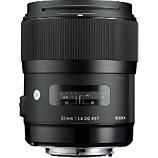 Objectif pour Reflex Plein Format Sigma  35mm f/1.4 DG HSM Art Canon