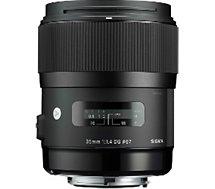 Objectif pour Reflex Sigma  35mm f/1.4 DG HSM Art Canon