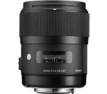 Objectif pour Reflex Sigma  35mm f/1.4 DG HSM Art Sony E