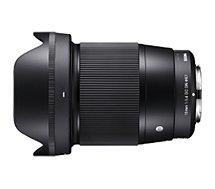 Objectif pour Hybride Sigma  16mm F1.4 DC Contemporary Canon EF-M