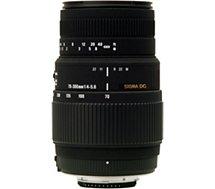 Objectif pour Reflex Plein Format Sigma 70-300mm f/4-5.6 Macro DG Canon