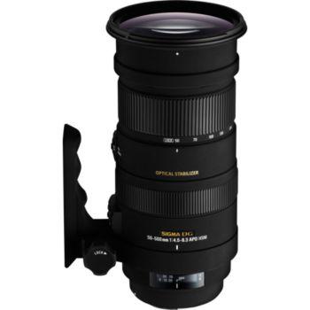 Sigma 50-500mm f/4.5-6.3 DG OS HSM APO Canon