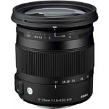 Objectif pour Reflex Sigma  17-70mm f/2.8-4 Macro DC OS HSM Canon