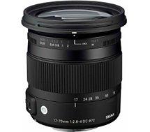 Objectif pour Reflex Sigma  17-70mm f/2.8-4 Macro DC OS HSM Nikon