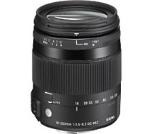 Objectif pour Reflex Sigma  18-200mm f/3.5-6.3 Macro DC OS HSM Canon
