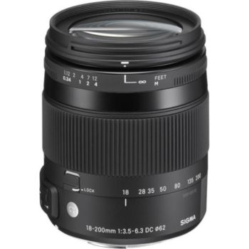 Sigma 18-200mm f/3.5-6.3 Macro DC OS HSM Canon