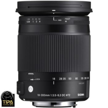 Sigma 18-300mm f/3.5-6.3 Macro DC OS HSM Canon
