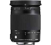 Objectif pour Reflex Sigma  18-300mm f/3.5-6.3 Macro DC OS HSM Canon