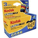 Pellicule Kodak  Pellicule ULTRAMAX 135 / 3x24 poses
