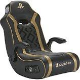 Siège gamer E-Concept  X-Rocker Sony Gold à bascule noir/or