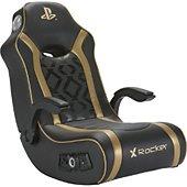 Siège X-Rocker Sony Gold à bascule noir/or