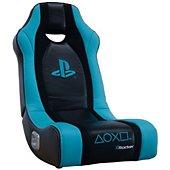 Siège gamer E-Concept X-Rocker Sony Wraith à bascule noir/bleu
