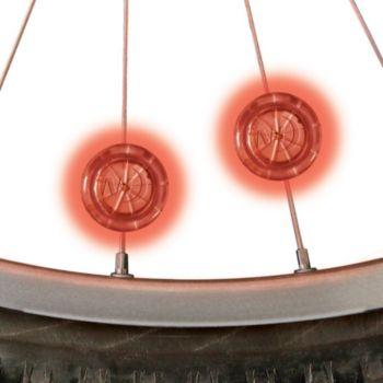 Nite Ize LED pour roue vélo Rouge