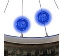 Lumière Nite Ize  LED pour roue vélo BLEU