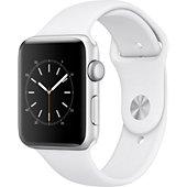 Montre connectée Apple Watch 42MM Alu Argent / Blanc Series 2