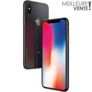 Apple iPhone X Gris Sidéral 64 GO
