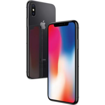 Apple iPhone X Gris Sidéral 64 GO 				 			 			 			 				reconditionné
