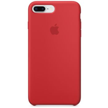 Apple iPhone 7/8 Plus Silicone (PRODUCT) rouge