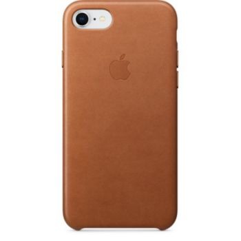 Apple iPhone 7/8 cuir havane