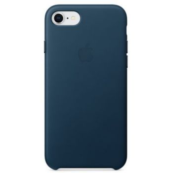 Apple iPhone 7/8 cuir bleu