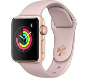 Apple Watch 38MM Alu Rose/Rose Series 3