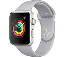 Montre connectée Apple Watch 42MM Alu/Nuage Series 3