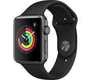 Apple Watch 42MM Alu Gris/Noir Series 3