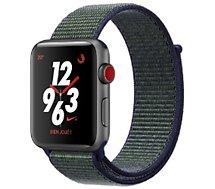 Montre connectée Apple Watch Nike+ 42MM Alu/Boucle Brume de minuit