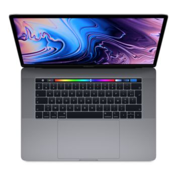 Macbook Pro 15p Touch Bar i7  512Go Gris S 				 			 			 			 				reconditionné