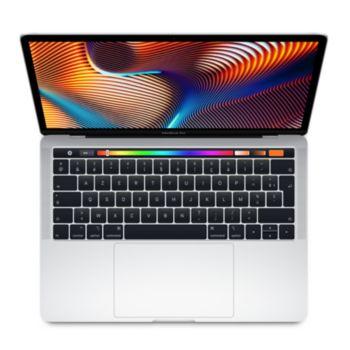 Macbook Pro 13p Touch Bar i5 256Go Argent     reconditionné