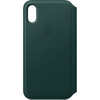 Apple iPhone Xs Cuir vert foret