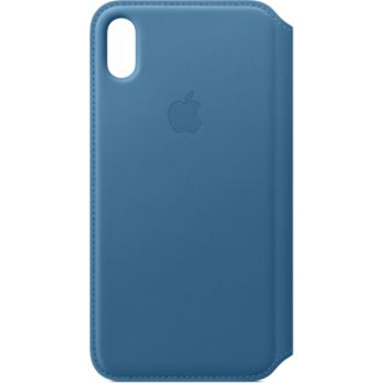 Apple iPhone Xs Max Cuir bleu