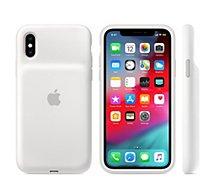 Coque avec batterie Apple  iPhone Xs Batterie intégrée blanc
