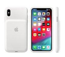Coque avec batterie Apple iPhone Xs Max Batterie intégrée blanc