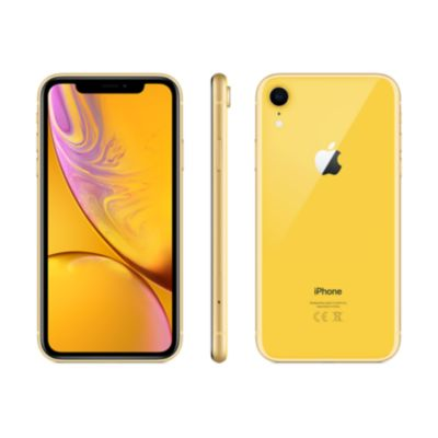 Location SMARTPHONE APPLE IPHONE XR JAUNE 64 GO