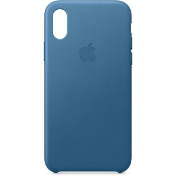 Apple iPhone Xs Cuir bleu