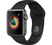 Apple Watch 38MM Alu Gris/Noir Series 3