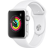 Apple Watch 42MM Alu Argent / Blanc Series 3