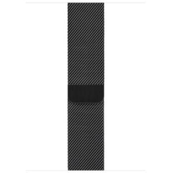 Apple 44 mm Milanais noir sidéral
