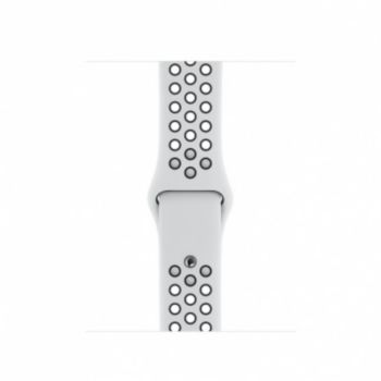 bracelet apple 40 mm nike pure platinum blanc/noir