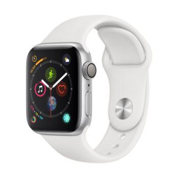 Apple Watch 40MM Alu Argent / Blanc Series 4